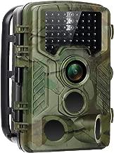 lapso de tiempo 120 /° gran angular no brilla por infrarrojos 20 m visi/ón nocturna 16 MP 1080P Grabadora de v/ídeo juego y Trail Caza C/ámara disparador de movimiento activado Control remoto