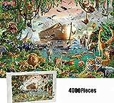 CHERRIESU DIY 4000 piezas Jigsaw puzzle Arca de Noé para adultos niños rompecabezas creativo juego de Navidad decoración del hogar regalo para 8-12