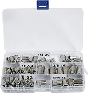 Stainless Steel Rivet Nuts Kit #8-32#10-24 1/4