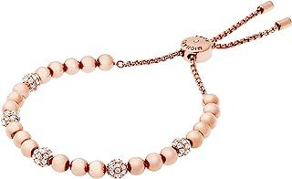 Blush Rush Rose Gold-Tone Bead Bangle Bracelet