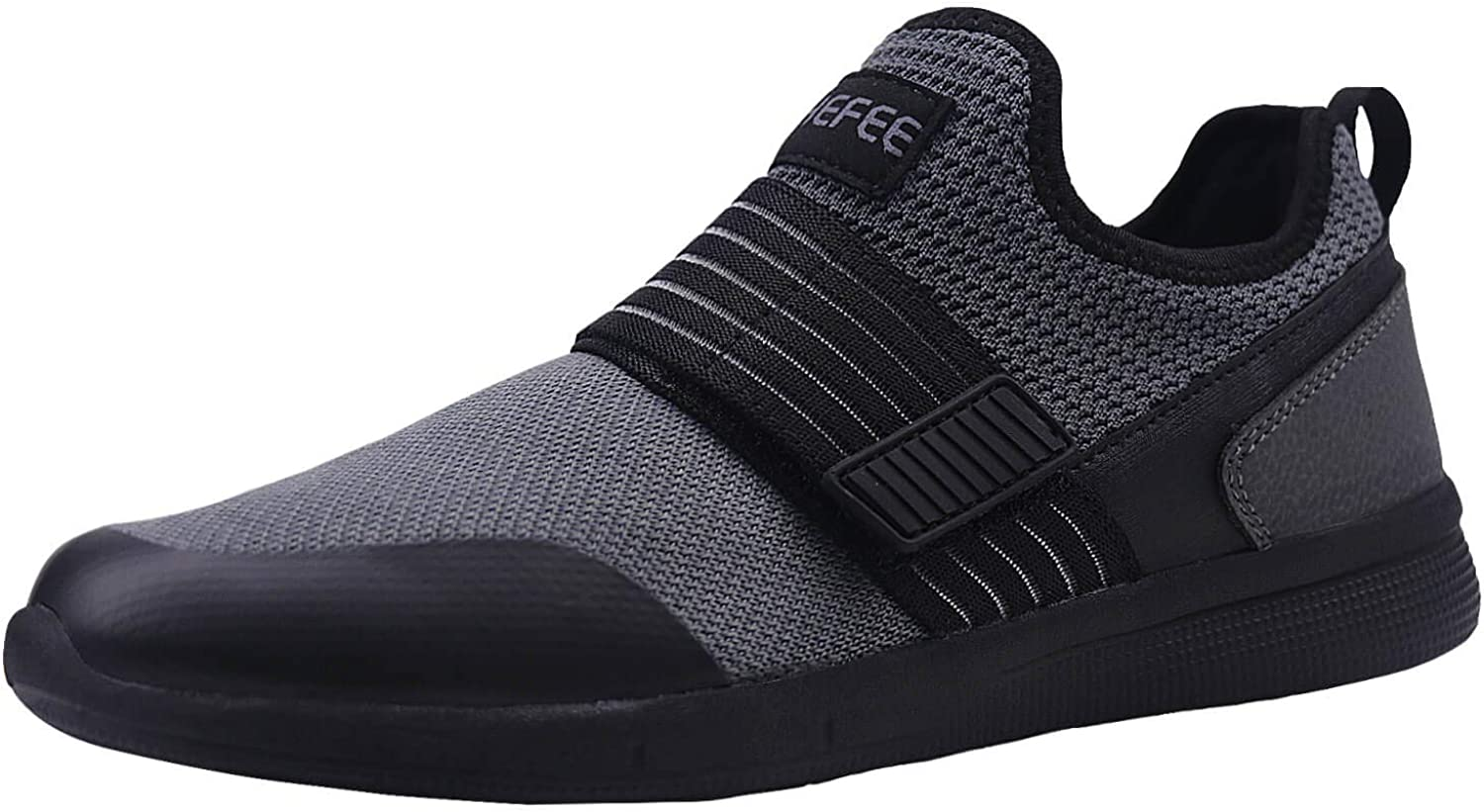 Phefee Mens Casual Lightweight Slip On Breathable Mesh Walking shoes Sneakers