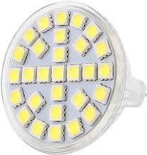 X-DREE MR16 SMD5050 29LEDs 5W Glass Energy Saving LED Spotlight Lamp Bulb White AC 220V(MR16 SMD5050 Lampadina LED a energ...