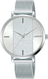 Lorus Womens Analog Quartz Watch with Stainless Steel bracelet RG217SX9