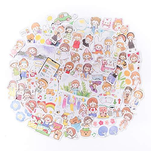 330枚 シール フレークシール かわいい女の子の毎日 手帳 テクスチャ 装飾 ノート 美化 diy 構成 パターン 背面 接着 剤 直接 貼る 付け 学用品 事務 用品 パック あたり パック あたり