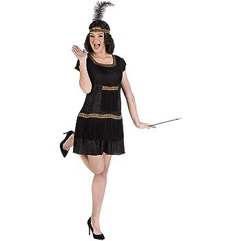 Disfraz de Flapper Negro para mujer: Amazon.es: Productos para ...