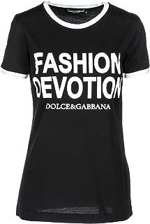 Dolce & Gabbana Women's Fashion Devotion T-Shirt Black