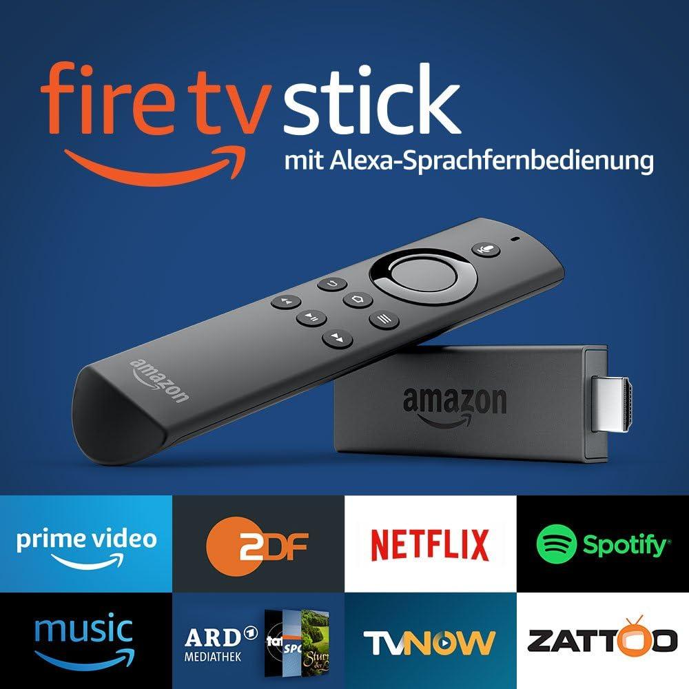 Vorg/ängermodell /– 2. Generation Fire TV Stick mit Alexa-Sprachfernbedienung