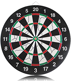 Lunuolao Regulation Bristle Steel Tip Dartboard Set, High Definition Vibrant Color, Long-Lasting Durability, Extremely Strong, Multi-Size, More Fun