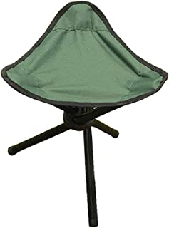 Folding Camping Step Stool, Lightweight Portable Small Tripod Chair Seat, Foldable Footstool for Ourdoor Traveling Hiking ...