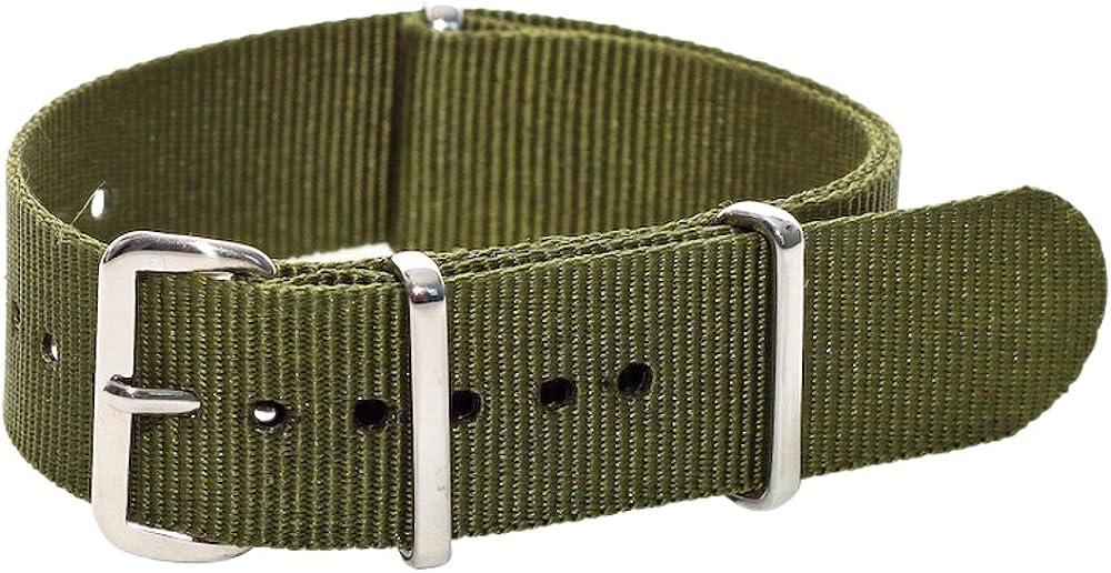 Brand new Clockwork Regular store Synergy Classic Nylon Nato straps 22mm watch bands A