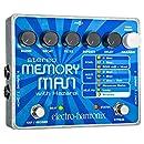 electro-harmonix Stereo Memory Man with Hazarai Stereo Memory Man/Hazarai Pedal - Pedal de efecto eco/delay/reverb para guitarra, ...