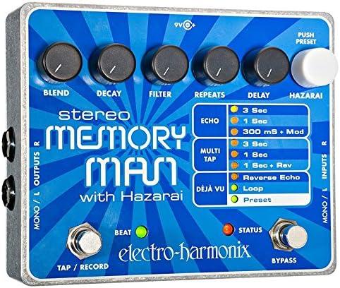 discount Electro-Harmonix Stereo Memory Man with high quality Hazarai Delay Looper wholesale Pedal sale