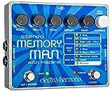 electro-harmonix Stereo Memory Man with Hazarai Stereo Memory Man/Hazarai Pedal - Pedal de efecto...
