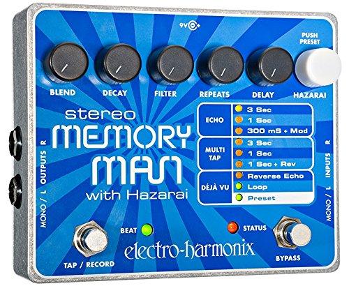 2. Electro-Harmonix Stereo Memory Man withHazaraiDelay / Looper Pedal