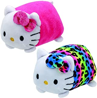 cd7ef57f2 TY Beanie Boos - Teeny Tys Stackable Plush - Hello Kitty - SET OF 2 (