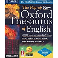 SELECTSOFT USA The Pop-up New Oxford Thesaurus of English (Windows) [並行輸入品]