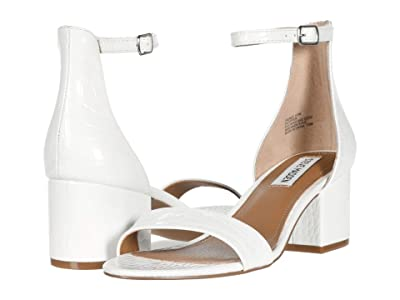 Steve Madden Irenee Sandal (White Croco) Women