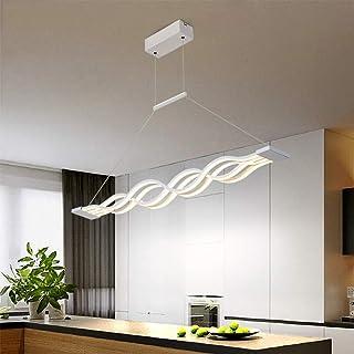 Amazon.es: lampara techo led alargada
