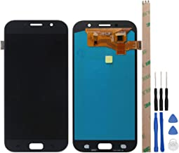 HYYT Replacement for Samsung GALAXY A7 2017 A720 A720F SM-A72 LCD Display and Touch Screen Digitizer Glass Assembly (black)
