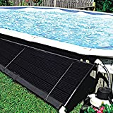 CBPE Above In-Ground Solar Panel Heater System for Swimming Pool, Solar Heater for Inground And Aboveground Made of Durable Polypropylene,1 * 4.5m(3.2 * 14.7ft)