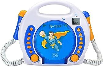 X4-Tech Bobby Joey CD Lecteur CD Portable