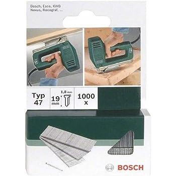 Bosch 2609255811 - Clavo (tamaño: 23mm, pack de 1000): Amazon.es: Bricolaje y herramientas