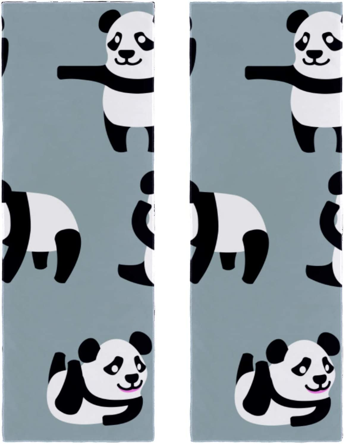 2 Packs Yoga Towel for Super Special SALE held Gym Max 61% OFF and Beach Travel Panda Camping Baby