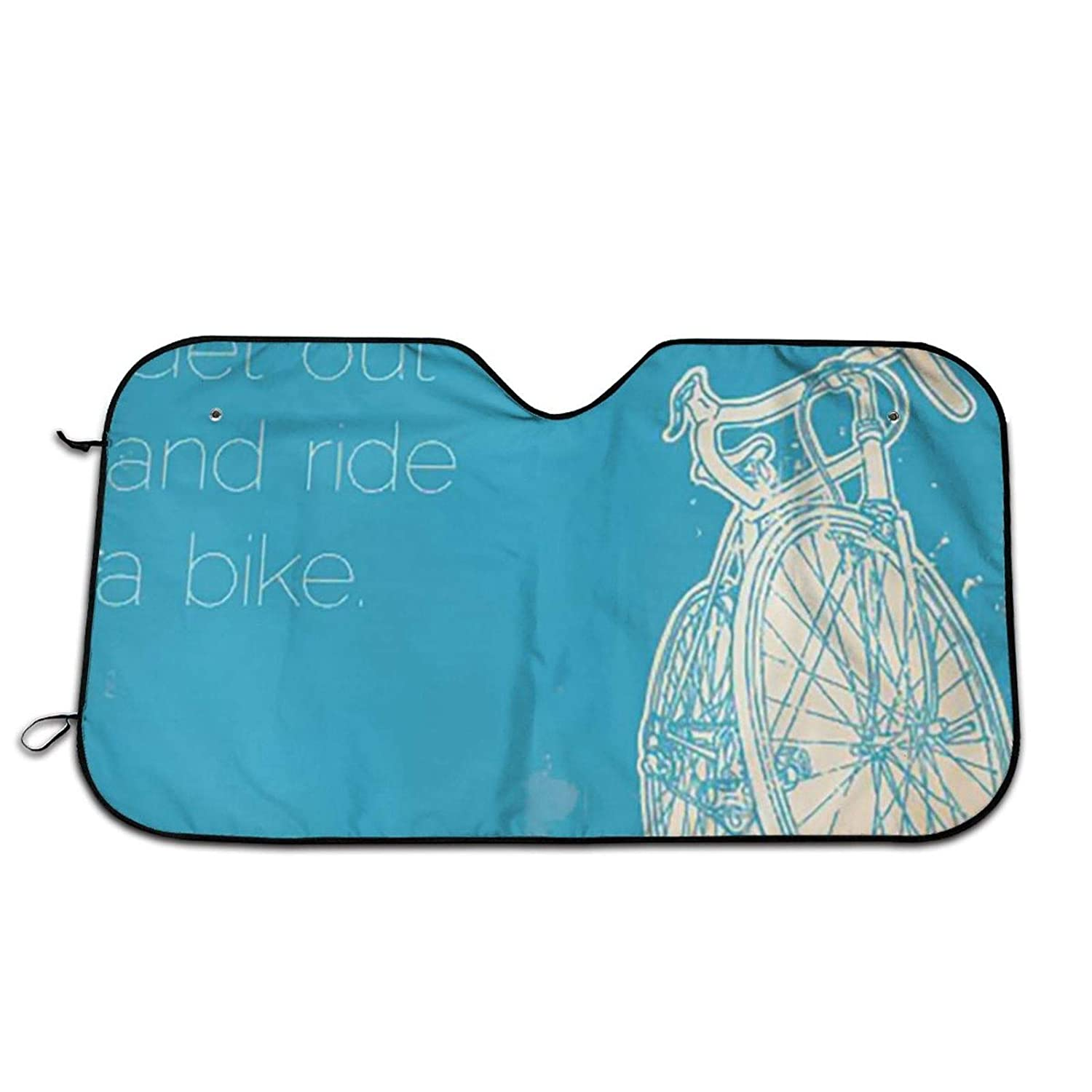 Durable New mail order Quote Get Out and Ride Side Bike Max 48% OFF Sun Windwhield a Auto