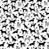 Pingianer 8,98€/m Hund Hunde 100% Baumwolle 50x160cm