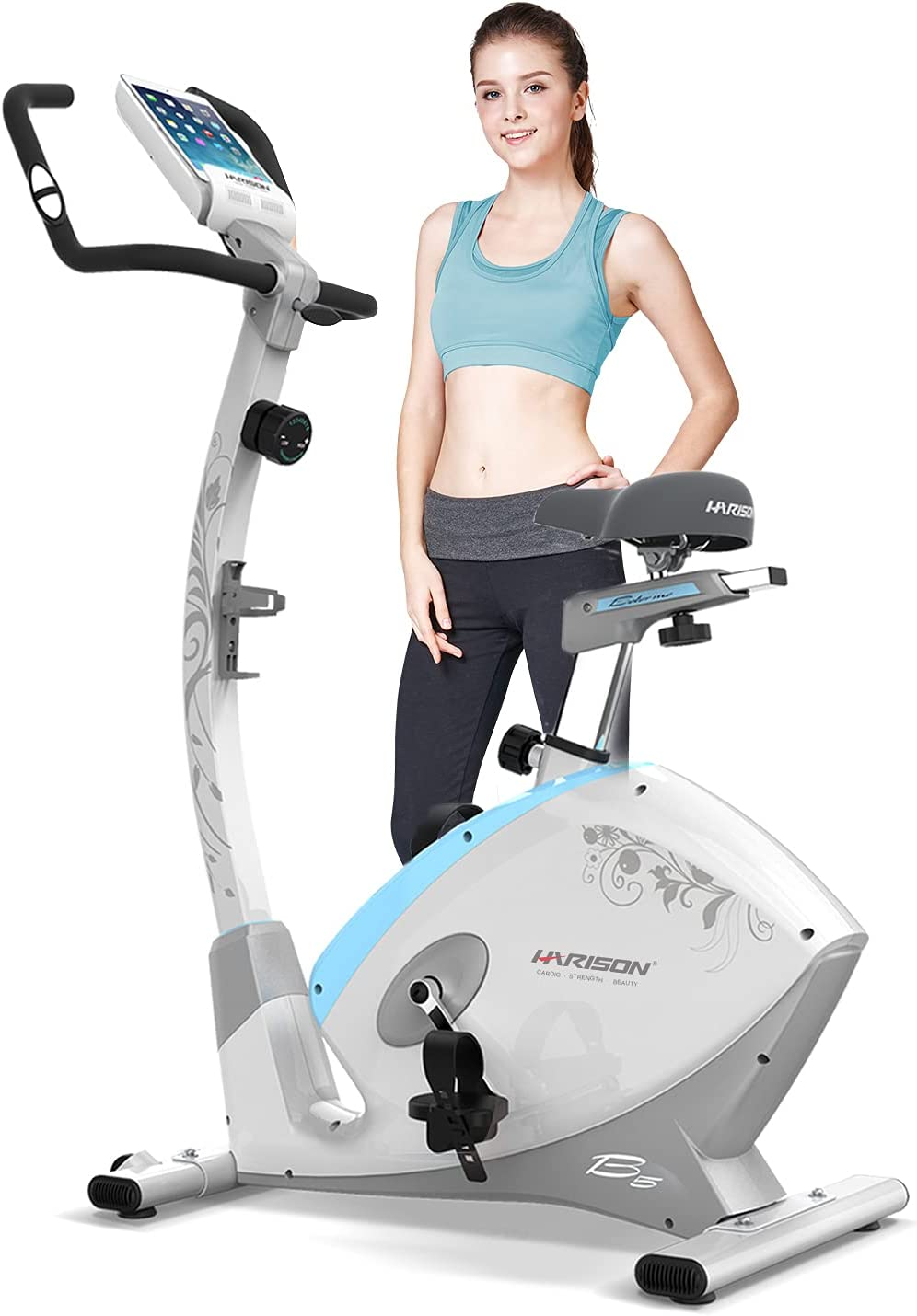 Credence HARISON Magnetic Stationary Upright Exercise Resista 8 with Mail order cheap Bike