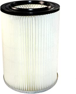 HQRP Cartridge Filter compatible with RIDGID VF4000 VF4000RT VF5000 VF6000 fits RIDGID Wet/Dry Vacs 5 gallon & up, New Design