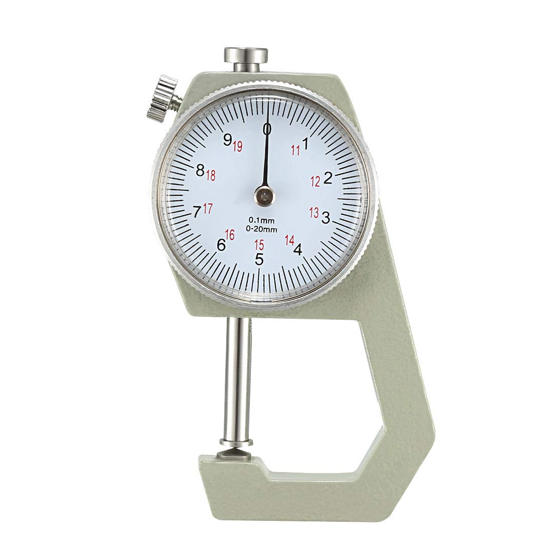 uxcell Thickness Gauge 0-20mm x Head Dial All items free shipping Cusp unisex 0.1mm