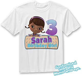doc mcstuffins personalized birthday shirt