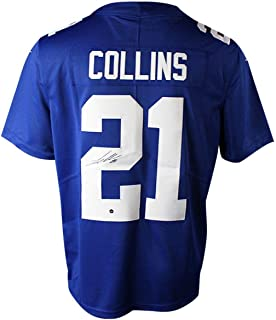 Landon Collins Signed Blue New York Giants Limited Twill Jersey - Steiner Sports Certified - Autographed NFL Jerseys