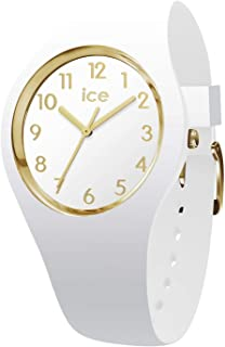 [アイスウォッチ]ICE WATCH レディース ICE Glam 35mm ゴールド ホワイト シリコン 014759 腕時計 [並行輸入品]