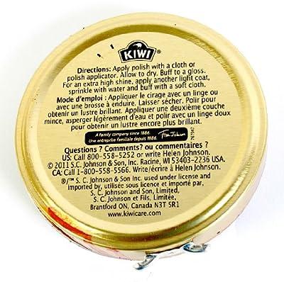 Kiwi Wax Shoe Polish, Giant Size 2.5 oz, Brown
