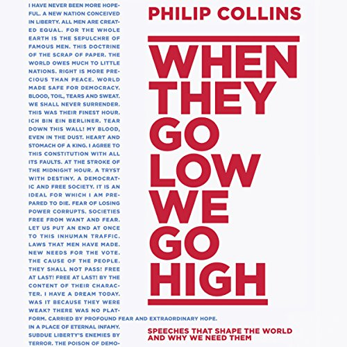 When They Go Low, We Go High audiobook cover art