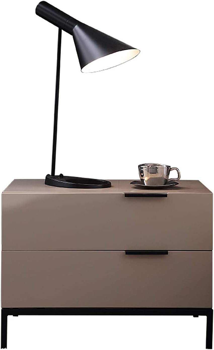 Cajolg Bedside Table Night Stand Household with 1 Directly managed store year warranty Drawer 2