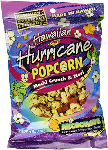 New 6pk Hawaiian Hurricane Microwave Popcorn
