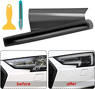 PSSC Pre Cut Rear Car Window Films for Peugeot 206 CC Open Top 2001 to 2010 05/% Very Dark Limo Tint