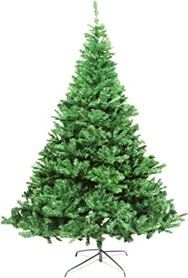ceb34947262 Artificial Christmas Tree. Fake Xmas Pine Green Tree Looks Real Natural.  Great for Indoor
