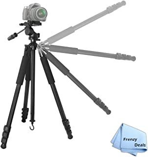 Compatible with The Olympus Pen E-PL8 Camera DURAGADGET Professional Tough Versatile Sturdy Tripod with 3D Ball Head