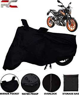 Riderscart All Season (Weather) Waterproof Bike Cover for KTM Duke 200 Indoor Outdoor Protection with Storage Bag