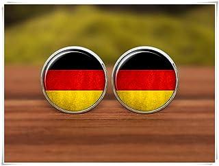 Gemelos con la bandera de Alemania, Gemelos, Gemelos, Gemelos con bandera de Alemania, símbolo nacional