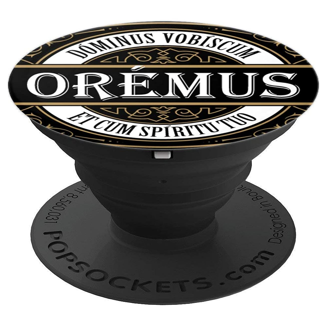 Traditional Latin Mass Oremus Dominus Catholic - PopSockets Grip and Stand for Phones and Tablets