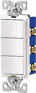 triple pole light switch