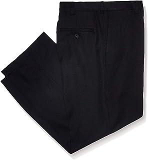 Haggar Men's Big and Tall Cool 18 Pro Classic Fit Flat Front Pant