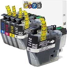 インクのチップス ブラザー LC3111 互換インク 4色+黒1本セット 計5本 LC3111-4PK 互換