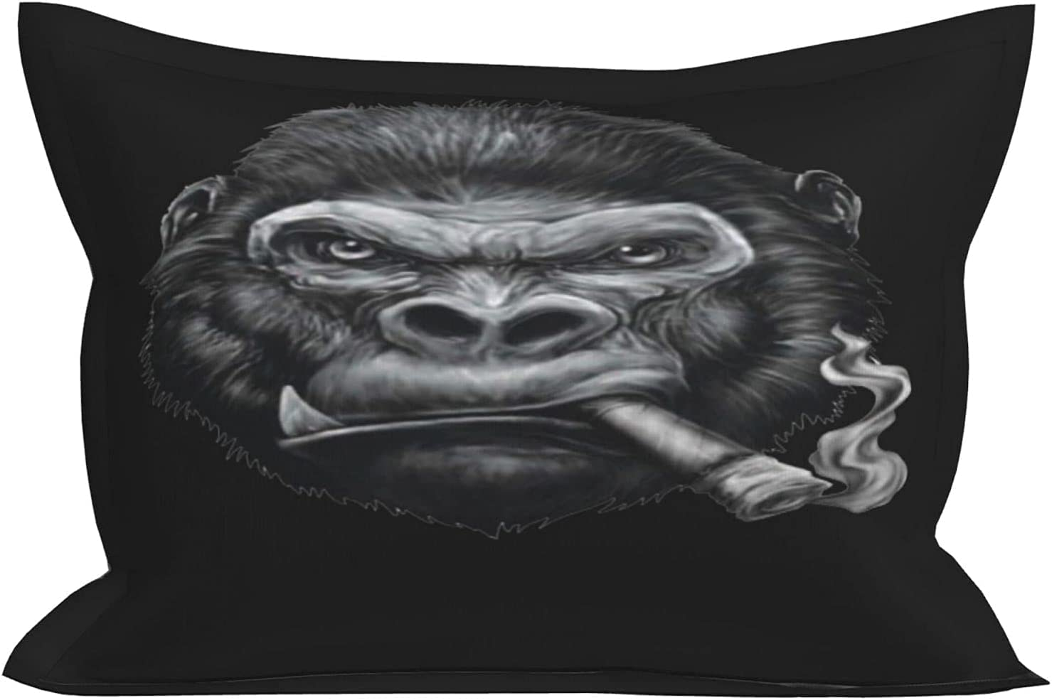 huaxian Pillowcase for Hair and Standard Size Skin Chimp 5 ☆ popular online shop Smoking