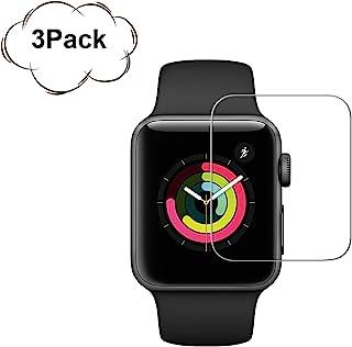 3Pack Apple 42mm Watch Screen Protector (42mm Series 3 2 1 Compatible) BBInfinite Full Coverage Anti-Scratch/Anti-Fingerprint/High Definition Screen Protector Compatible Apple Watch 42mm